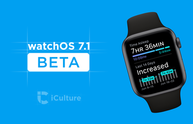 watchOS 7.1 beta