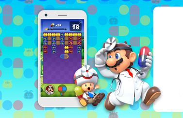 Dr. Mario World artwork.