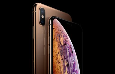 iPhone XS goud abonnement