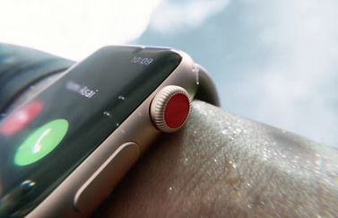 Apple Watch Series 3 waterbestendigheid