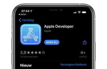 Apple Developer app
