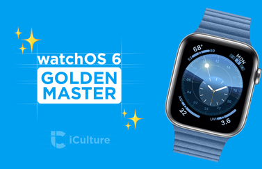 watchOS 6 Golden Master.