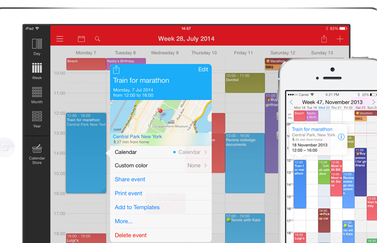 Week Calendar iPhone iPad iOS 8 support