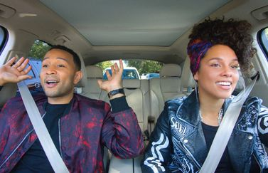 Carpool Karaoke met John Legend en Alicia Keys
