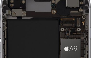 A9 processor op iPhone 6s.