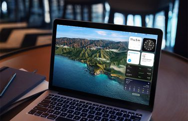 Widgets in macOS Big Sur