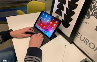 iPad Air 2019 review met toetsenbord.