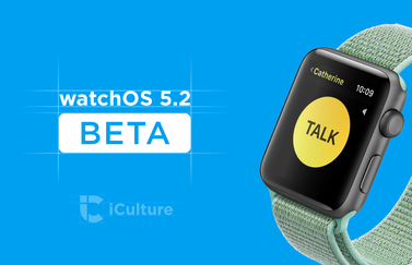 watchOS 5.2 beta.