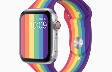 Apple Watch Pride sportbandje 2020.