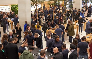 Apple AirPod Pro Londen launch