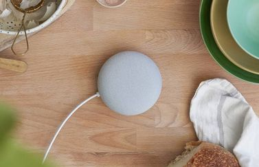 Google Nest Mini 2e generatie.