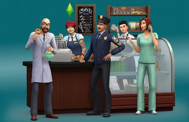 Sims 4 Get to Work