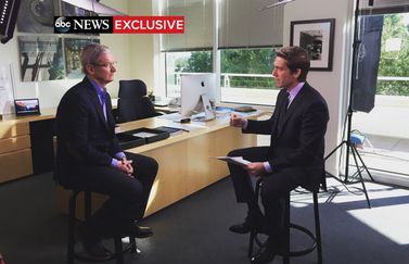Tim Cook interview in ABC News