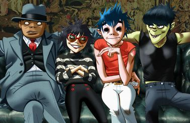 Gorillaz-app met augmented reality