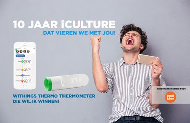 iCulture winactie: Withings Thermo
