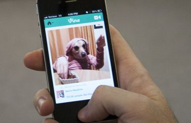 Vine iPhone-app