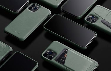 Mujjo Slate Green iPhone 11 Cases