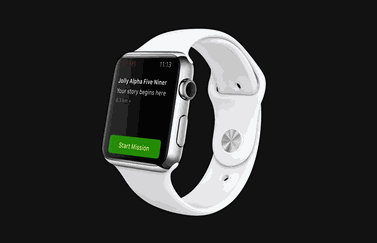 Zombies Run! op de Apple Watch