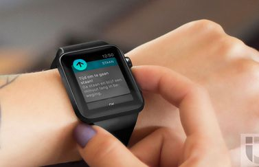 Staan-notificatie op de Apple Watch