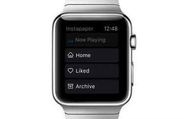 Instapaper op Apple Watch