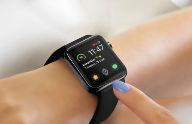 Complicate It op de Apple Watch wijzerplaat.