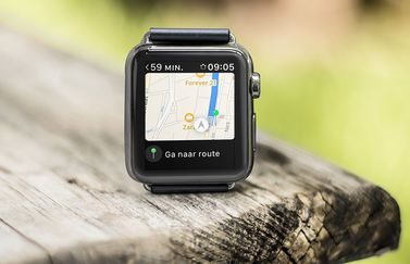 Apple Watch navigeren