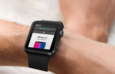 Apple Watch websites bekijken