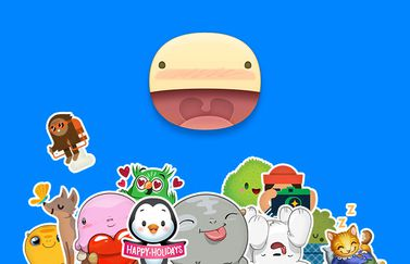 stickered-facebook-messenger