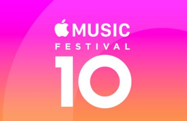 Apple Music Festival 10.