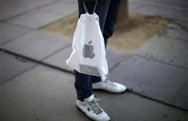 Apple Store plastic tas