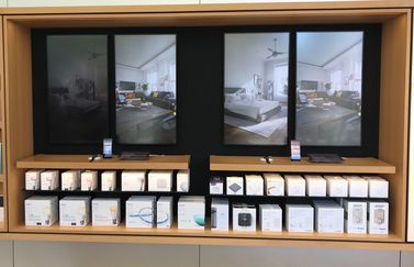 HomeKit-demo in de Apple Store.