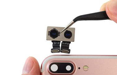 iPhone 7 teardown door iFixit: de cameramodule