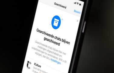 WhatsAp archief met chats.