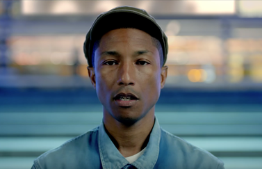 Pharrell Williams met Freedom.