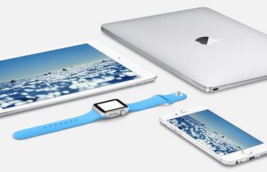 Apple Watch, MacBook, iPad en iPhone.