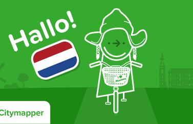 Citymapper in Nederland.