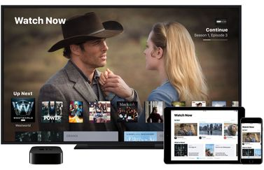 TV-app op Apple TV en iOS.