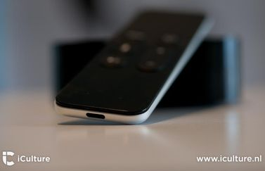 Apple TV 4 remote met Lightning-aansluiting