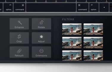 Touch Bar in de toekomst