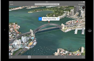 Apple Maps - Flyover