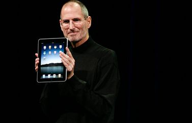 Steve Jobs met iPad