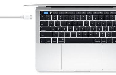 Apple MacBook met Thunderbolt poort