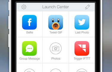 Launch Center Pro iPhone