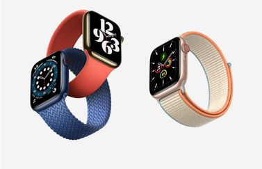 Apple Watch Series 6 vs Apple Watch SE.