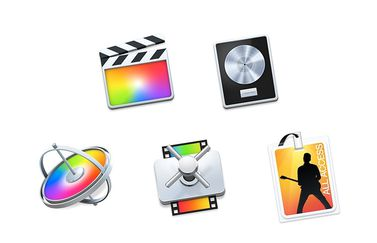 Final Cut Pro X, Logic Pro X, Motion, Compressor, MainStage in bundel voor onderwijs.