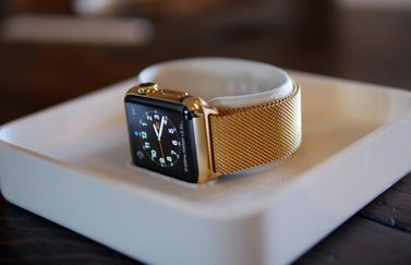 Apple Watch goud