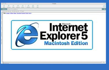 Internet Explorer 5 voor Mac