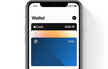iOS 14 CarKey in Wallet