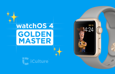 watchOS 4 Golden Master.