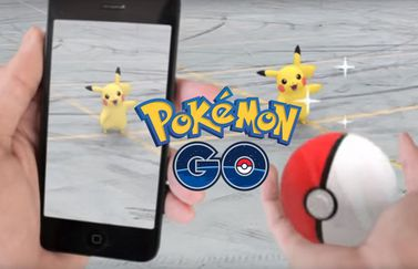 Pokémon Go op iPhone